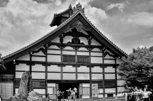 Kyoto en Noir et Blanc- ELA1282-Edit