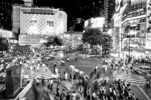 Tokyo noir et blanc- ELA2777-Edit